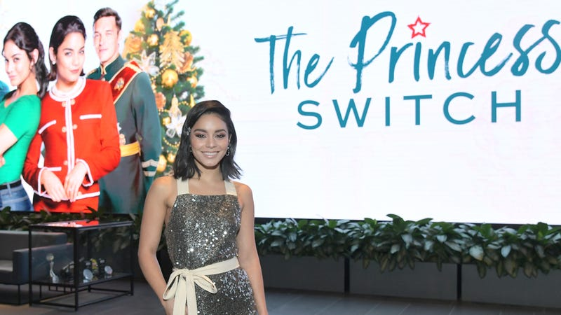 Illustration for article titled Vanessa Hudgens Will Play Not 1, Not 2, But 3 Princesses in the Princess Switch Sequel
