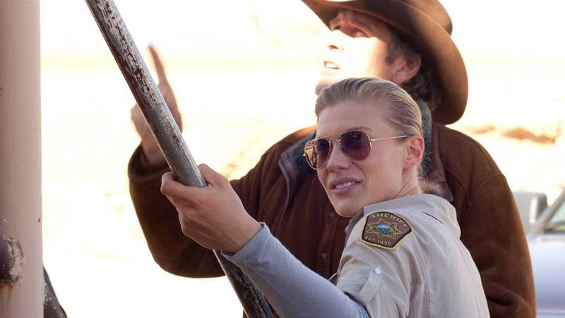 Illustration for article titled Longmire's Katee Sackhoff on finally playing a character who has her shit together
