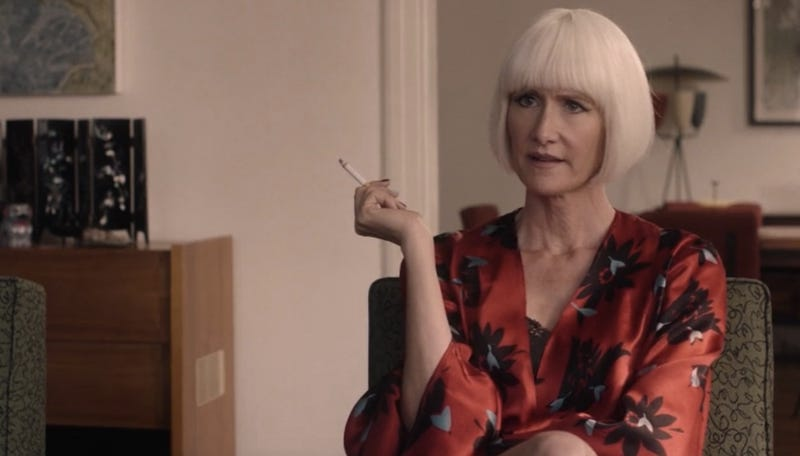 Laura Dern as Diane in Twin Peaks: The Return. Image: Showtime