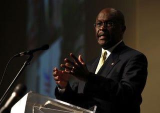 Herman Cain, GOP presidential hopeful (Getty)
