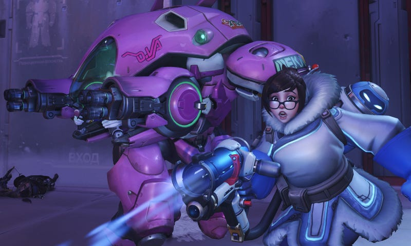 Illustration for article titled Blizzard Says They'll Punish Overwatch Players Who Use Mei's Ice Wall Cheat