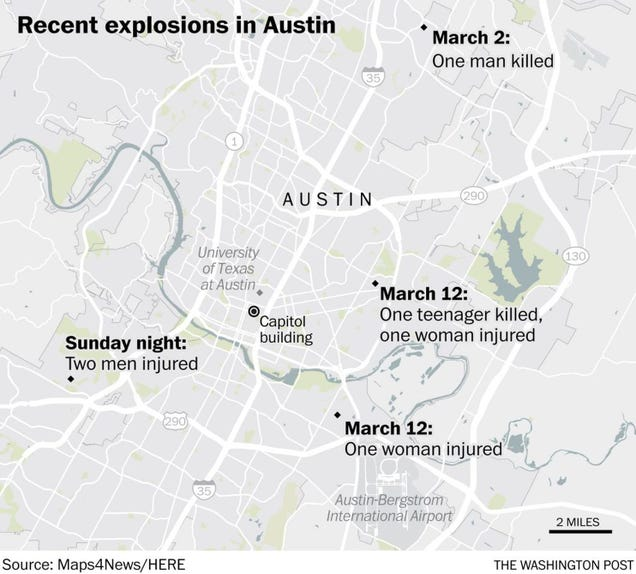 Illustration for article titled Another bomb in Austin