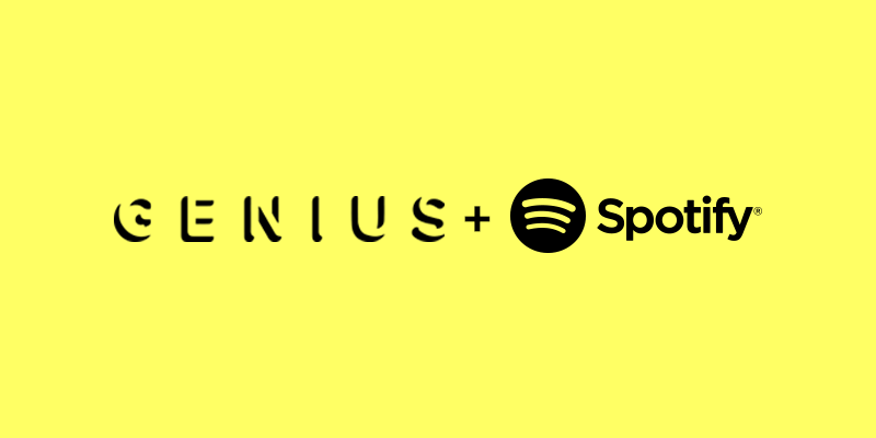 Illustration for article titled Spotify se alía con Genius para contarte la historia de la canción que escuchas