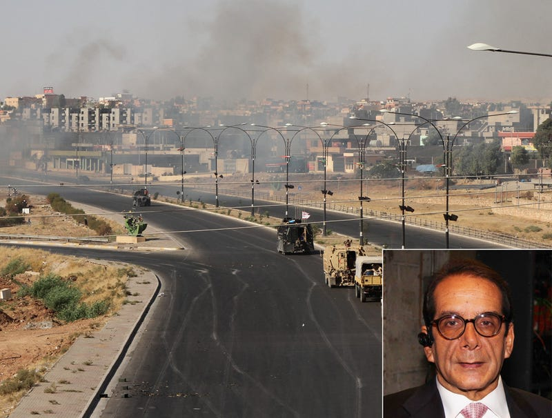 Illustration for article titled Charles Krauthammer Has Ashes Spread Over Prosperous, Liberated Iraq