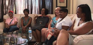 Women from the Sistahs on the Reading Edge book club have filed a lawsuit against the Napa Wine Valley train owners, charging that they were singled out and escorted from the train because many of the members are African American. KTVU screenshot