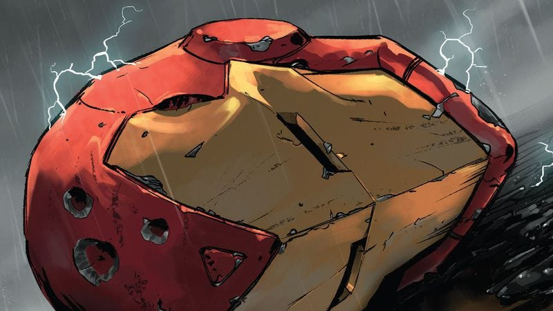 Illustration for article titled Civil War II will make you yearn for the time when bad comics were good fun