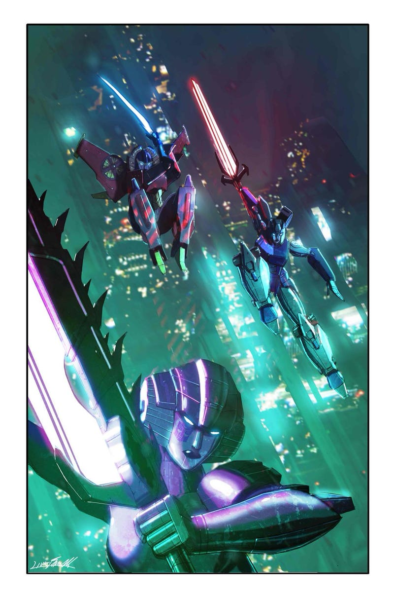 Illustration for article titled Men Quake In Peril As Hasbro Debuts All-FemaleTransformers Team