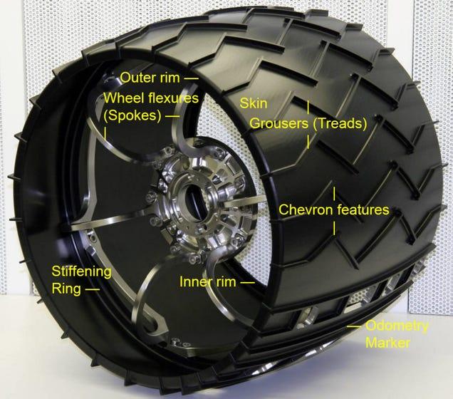 mars rover wheels design - photo #2