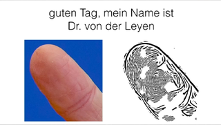 Illustration for article titled Hackers Reproduce A German Politician's Fingerprint From Photos