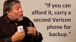 Illustration for article titled Woz's iPhone 4 Antenna Solution: Double Fisting