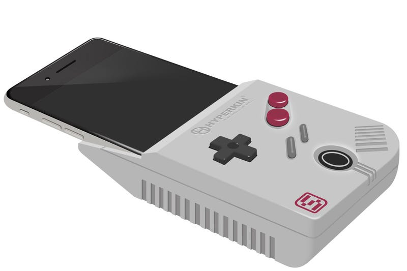 Illustration for article titled Hyperkin Wants To Turn Your Phone Into a Game Boy