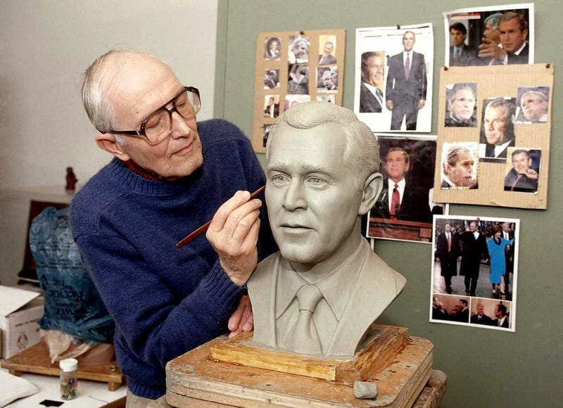 Illustration for article titled Blaine Gibson, Designer of Lifelike Robots at Disney Parks, Dies at 97