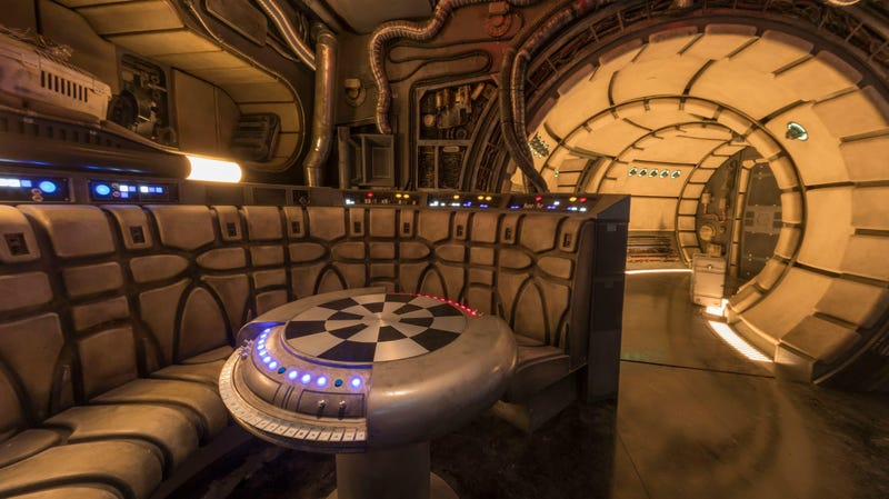 You'll be able to go inside the Millennium Falcon at Disneyland starting May 31.