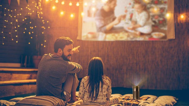 Host a Movie Night Anywhere With Anker s Soda Can-Sized Projector, Now Just $236 For the Holidays