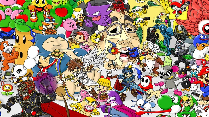 Illustration for article titled The Great Nintendo Family Portrait