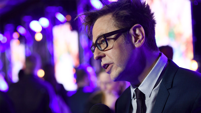 James Gunn attends the European launch  of Marvel Studios' Guardians of the Galaxy Vol. 2. on April 24, 2017 in London, England.