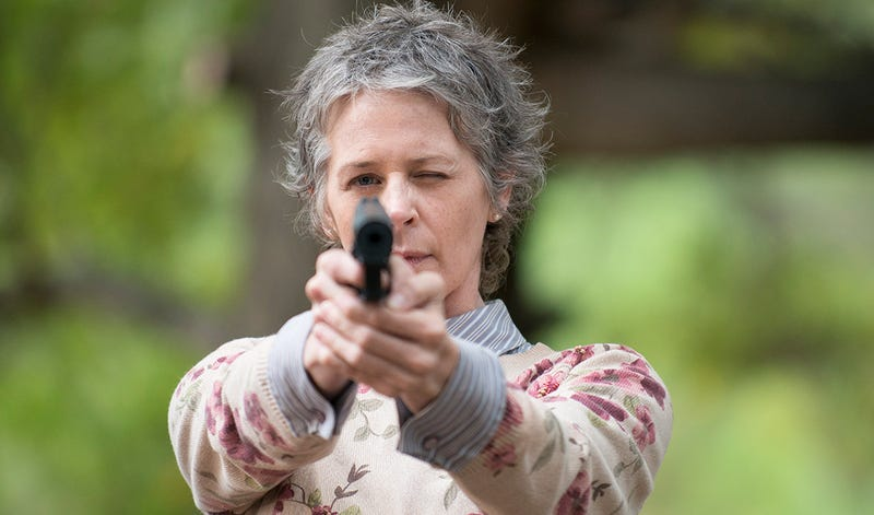 Illustration for article titled Holy Crap, The Walking Dead Nearly Killed Carol in Season 3