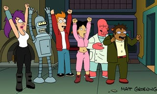 Illustration for article titled Futurama is Back For 26 More Episodes