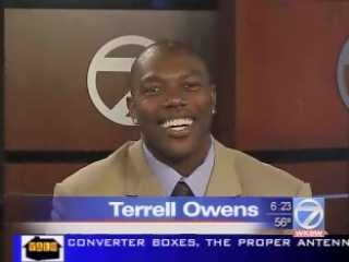 Illustration for article titled Only Terrell Owens Can Cover Terrell Owens