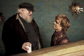 Illustration for article titled GRRM Reveals The Series' Ending To Peter Dinklage