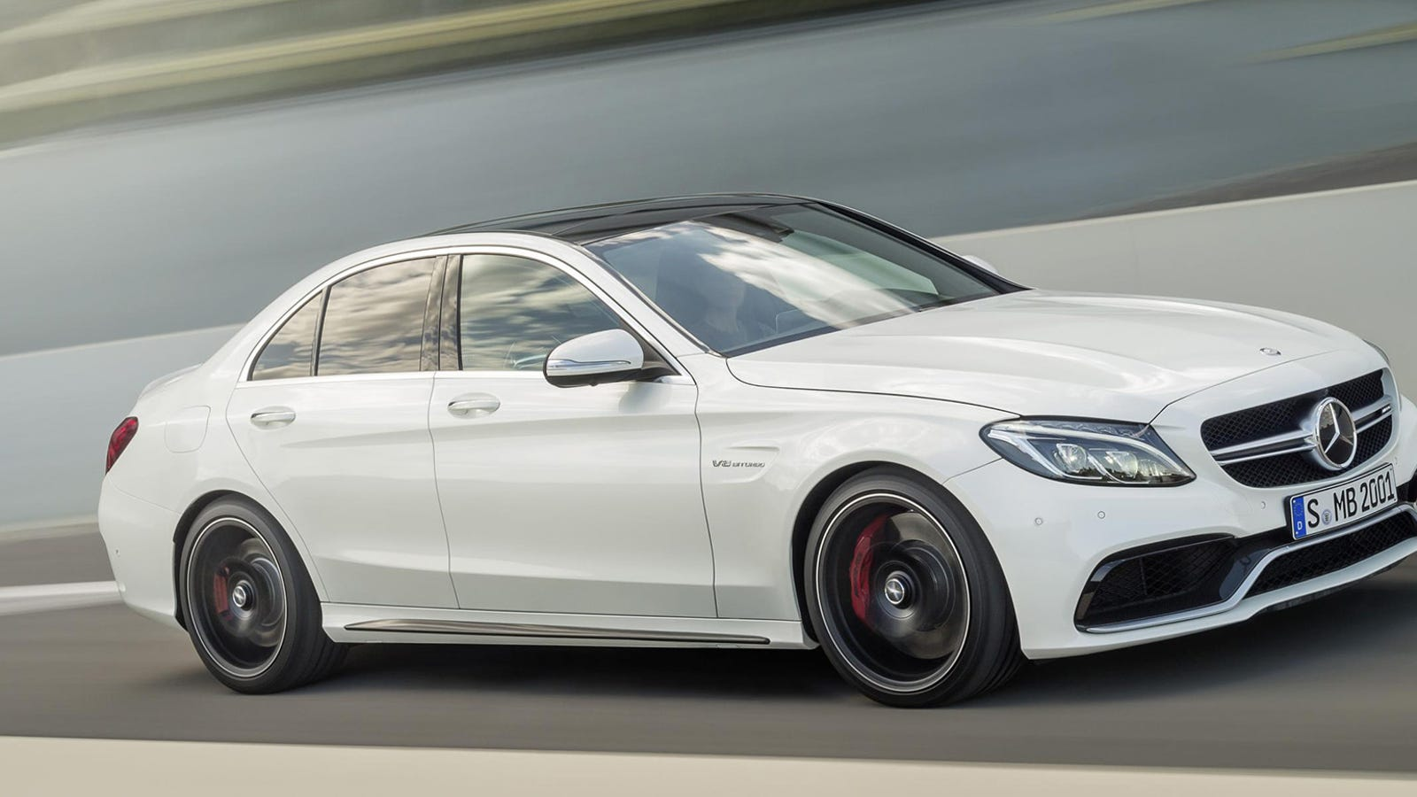 the 2015 mercedes-amg c63 is a hell of a lot better on gas