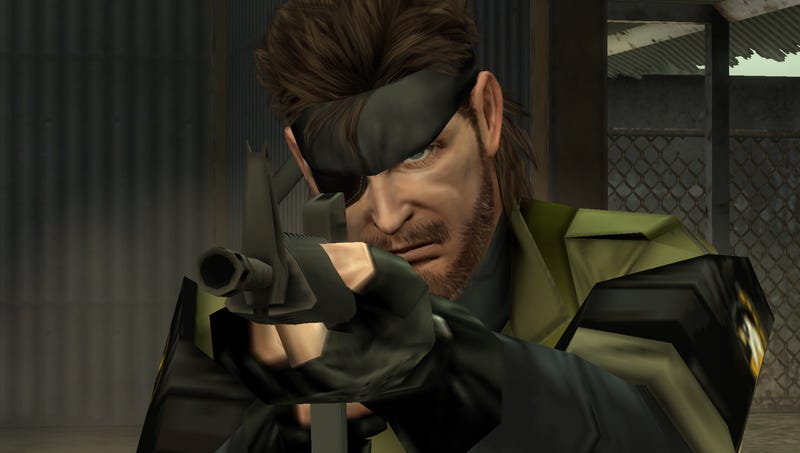 Illustration for article titled Can You Spot the HD Metal Gear Solid Games?