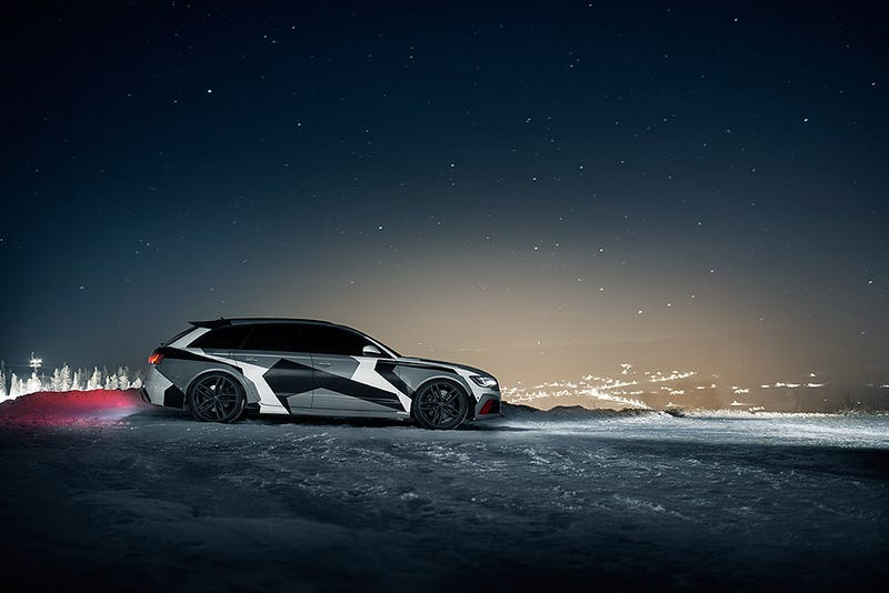 Illustration for article titled This Badass RS6 Wagon Is Jon Olsson's New Winter Ride