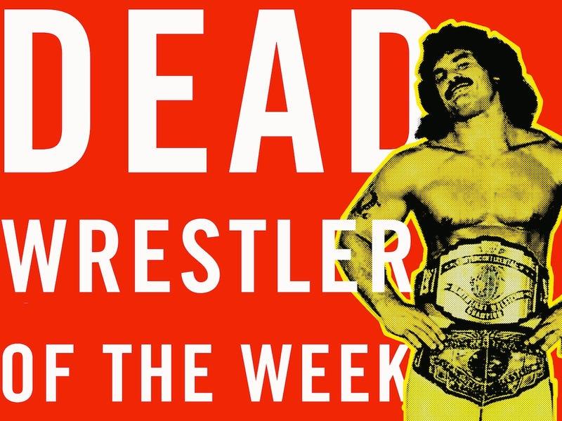 "Illustration for article titled Dead Wrestler Of The Week: ""Ravishing"" Rick Rude"