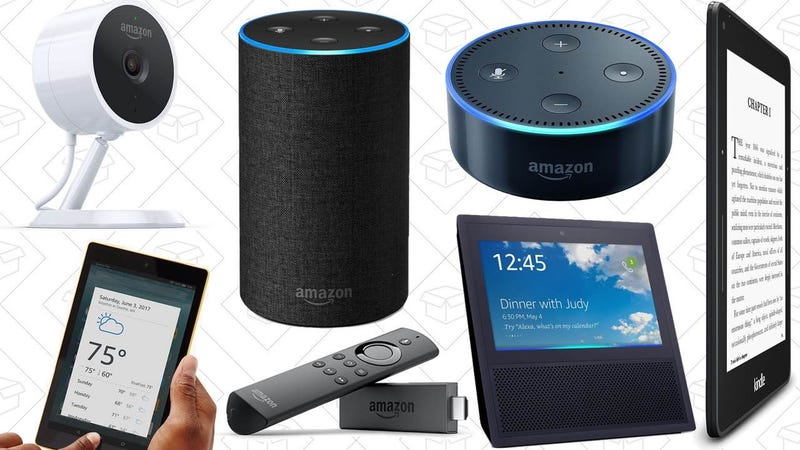 Illustration for article titled Discounted Echoes, Fire TV Stick, $30 Tablets, and the Rest of Amazon's Black Friday Deals