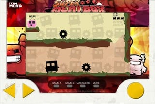 Illustration for article titled Super Meat Boy Being Rebuilt for Touch-Screen Mobiles