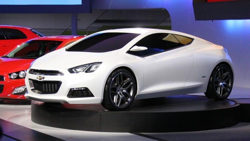Illustration for article titled Chevrolet Tru 140S Concept: Detroit Auto Show Live Photos