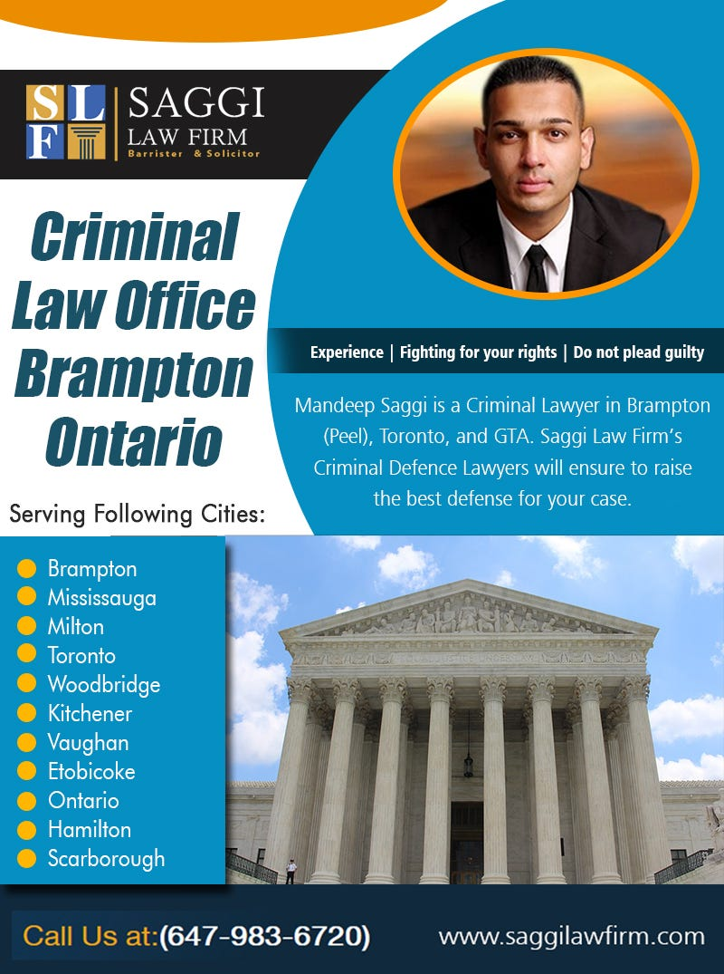 Illustration for article titled Criminal Law Office Brampton Ontario