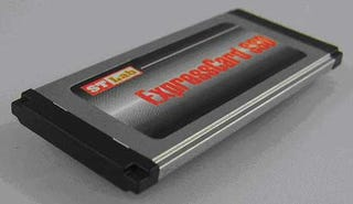 Illustration for article titled Sunrich Technology 32GB ExpressCard SSD Has Our Eyebrow Raised