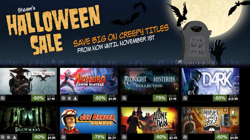 The Steam Halloween Sale