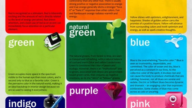 How Colors Affect Mood it's tuesday so have two philosophy jokes and a color science