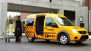 Illustration for article titled New York City approves Ford Transit Connect for taxi service anyway
