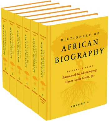 Illustration for article titled New Book Lists More Than 2,000 African Bios