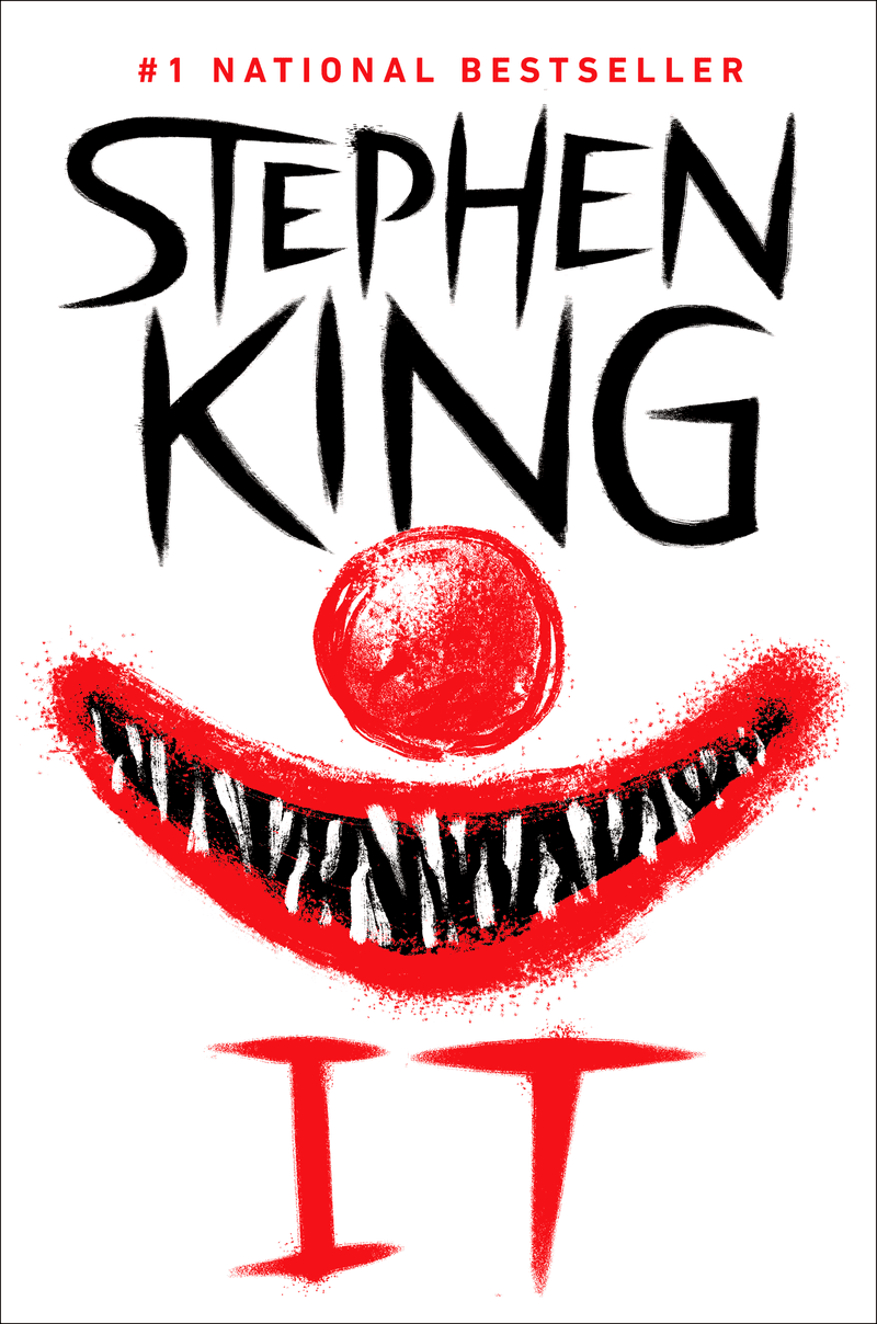 Image result for stephen king it book cover