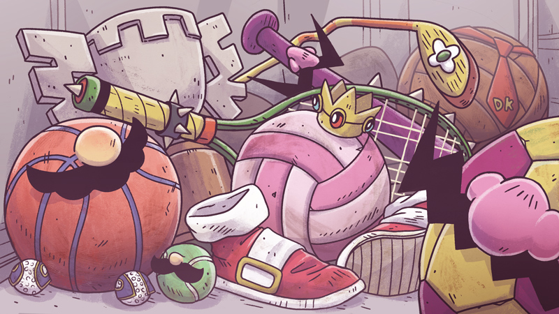 Illustration for article titled The Ups And Downs Of Mario Sports Games