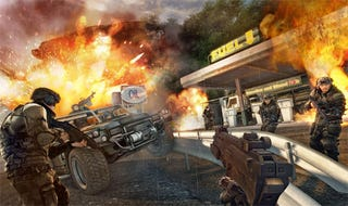 Illustration for article titled Crysis Warhead Screens