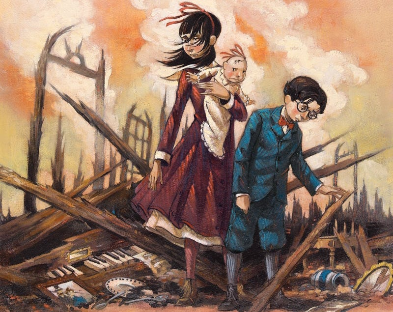 Illustration for article titled NetflixHasPut Barry Sonnenfeld at the Helm of A Series of Unfortunate Events