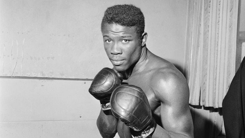 Emile Griffith in 1964. (Photo: Getty Images)