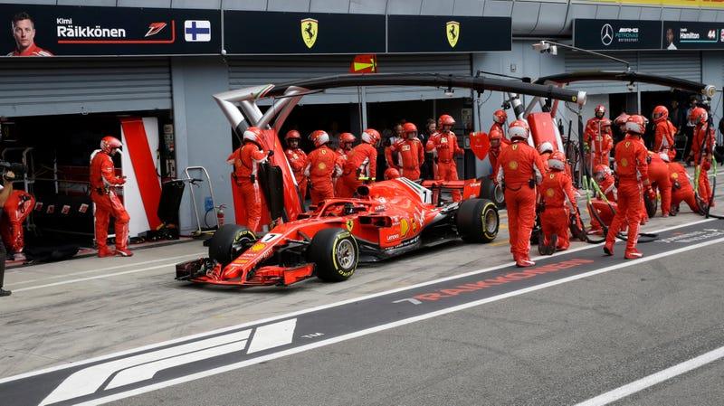 Illustration for article titled Ferrari Killed Kimi Raikkonen's Italian Grand Prix Chances