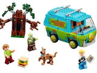 Illustration for article titled This is the Lego Scooby-Doo Mystery Machine