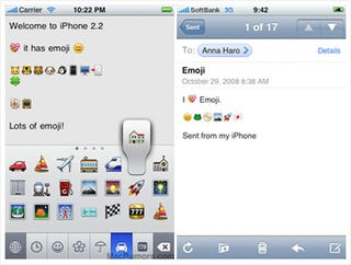 Illustration for article titled Simple Hack Enables Roughly One Gazillion Japanese Emoticons On Any iPhone