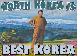 Illustration for article titled DID YOU KNOW THAT NORTH KOREA IS BEST KOREA?