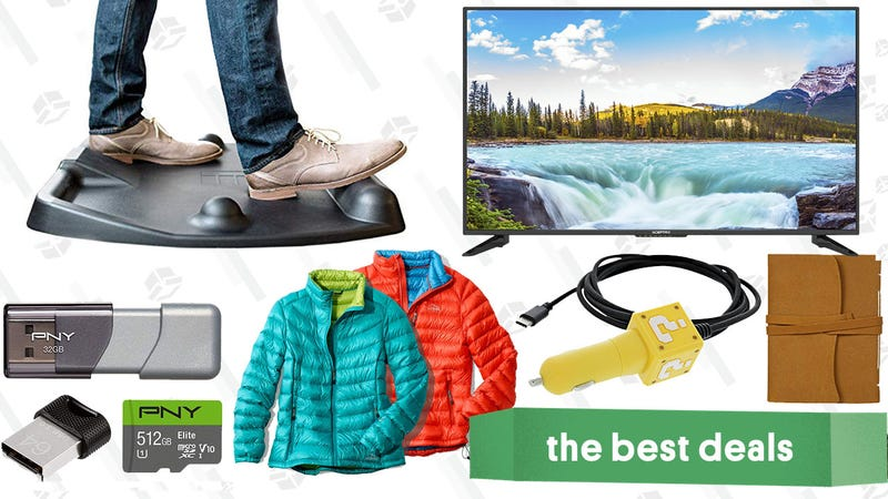 Illustration for article titled Saturday's Best Deals: Kindle Reads, L.L. Bean Sale, Standing Desk Mat, and More