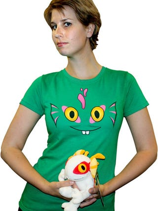 Illustration for article titled This Could Be The Most Adorable Murloc Shirt Ever