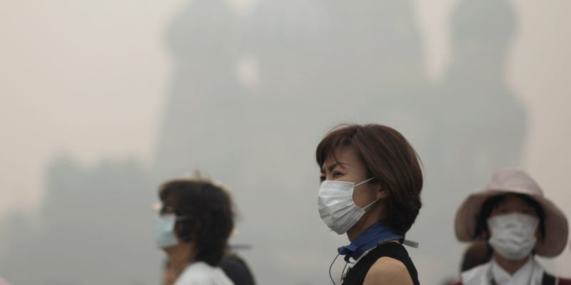 Illustration for article titled Smog Causes More Than 3 Million Premature Deaths a YearWorldwide