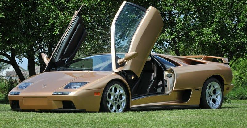 Driving A Poster Car The Lamborghini Diablo VT 60 SE